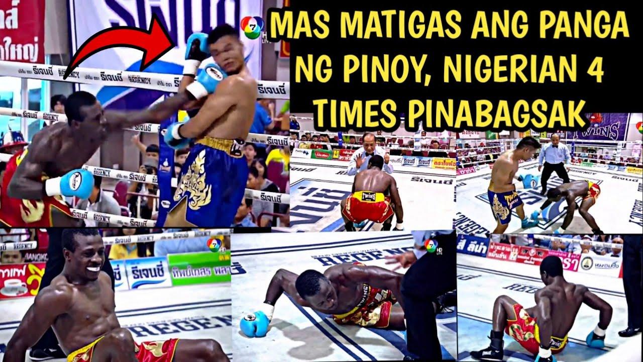 🇵🇭 Nigerian Fighter Minaliit At Pinagtawanan Ang Pinoy Knockout Sa Pinoy