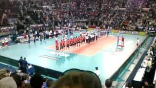 Campionati del Mondo di Volley 2010 - Italia - Usa ( Inno Italiano )