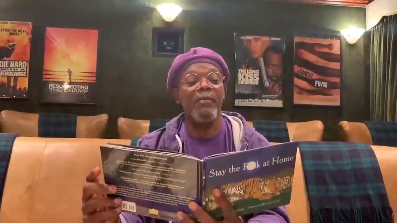 """Stay The Fuck At Home"" by Samuel L. Jackson"