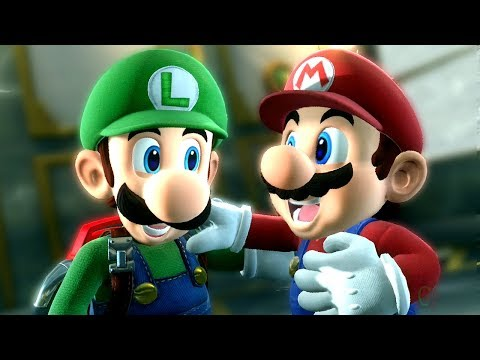 Mario & Luigi Teams Up to Battle Final Boss in Luigi's Mansion 3 + Ending