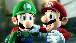 Mario & Luigi Teams Up to Battle Final Boss in Luigi