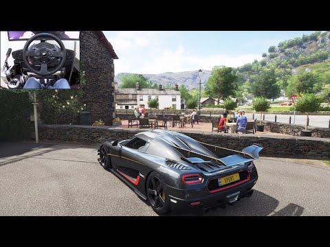 Koenigsegg One:1  Goliath Race  Forza Horizon 4   Thrustmaster T300RS gameplay