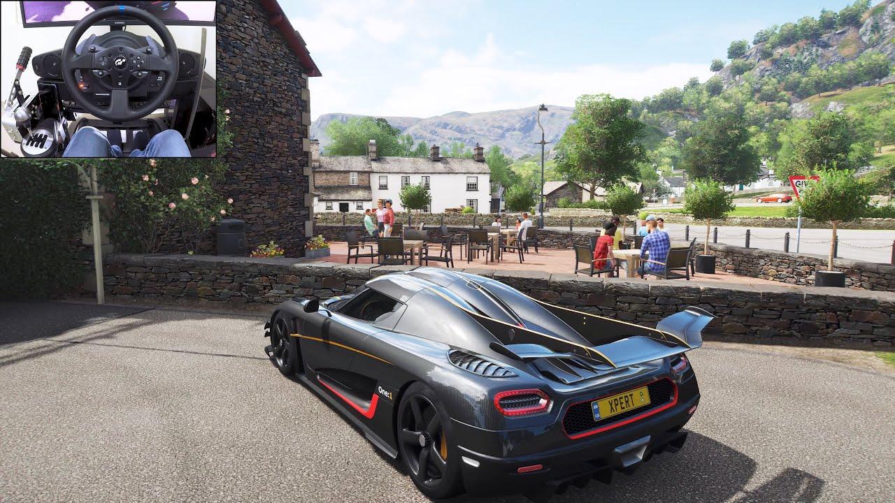 Koenigsegg One:1 - Goliath Race - Forza Horizon 4 | Thrustmaster T300RS gameplay