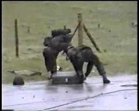 Lance missile firing