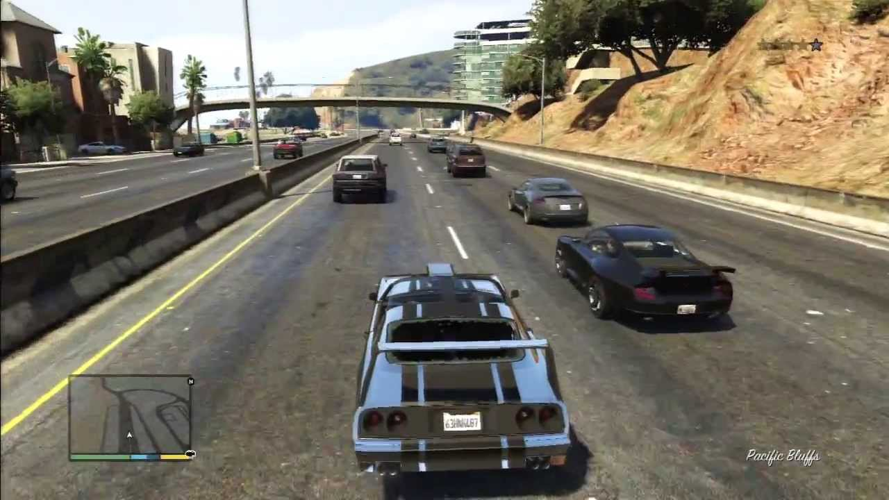 gta 5 muscle car - youtube