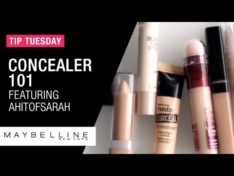 f4274380715 Find Your Perfect Concealer ft. Ahitofsarah | Maybelline New York - YouTube