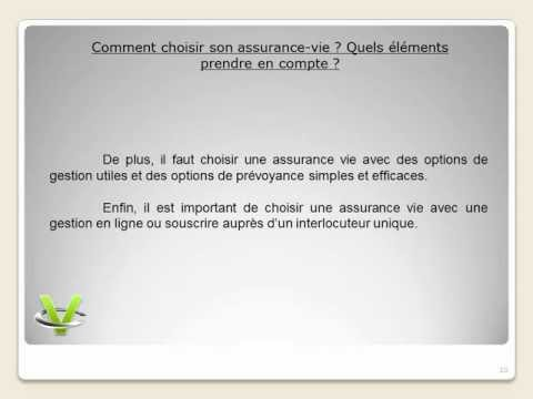 Interets assurance vie