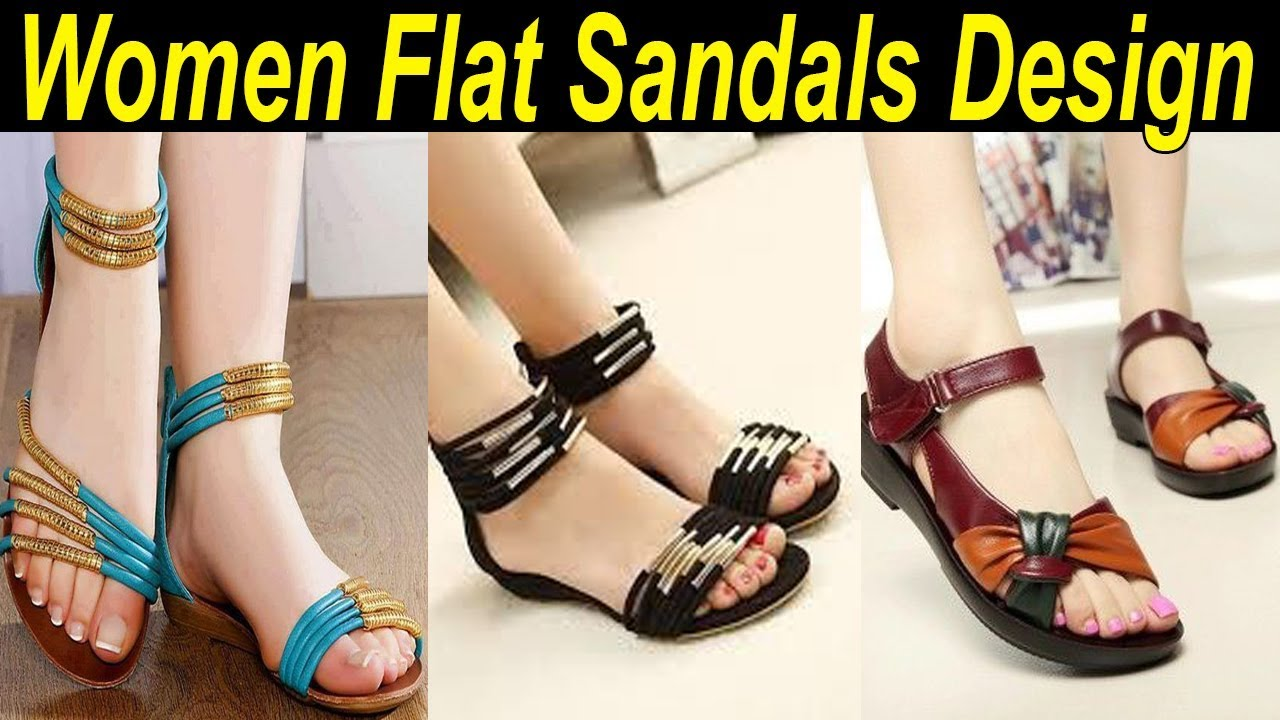 Trendy Flat Sandals 2018 for Women