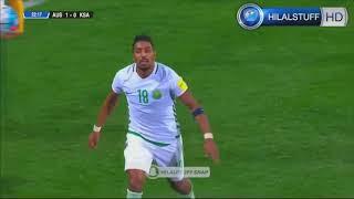 أهداف المنتخب السعودي في التصفيات المؤهلة لكأس العالم 2018 + يا سلامي عليكم يالسعودية