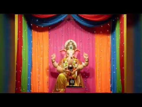 Easy Ganesh Decoration Ideas At Home Ganesh Chaturthi