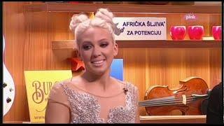 Milica Todorovic tverkuje - Ami G Show S09
