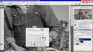 51 Превращаем старое черно белое фото в цветное