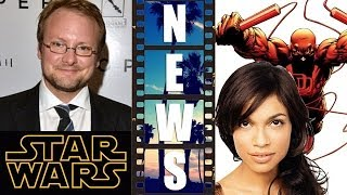 Star Wars Episode 8 with Rian Johnson, Rosario Dawson on Netflix's Daredevil - Beyond The Trailer