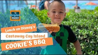 Lunch at Castaway Cay!