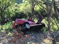 Dos personas resultaron muertas al caer vehículo en hondonada de La Moramulca