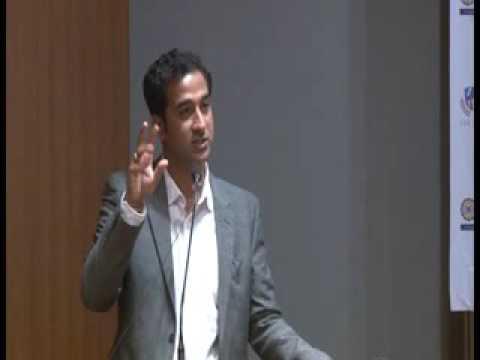 Deepu Krishna at Ahmadabad Management Association Auditorium. An Ique Ideas & AURO University Event