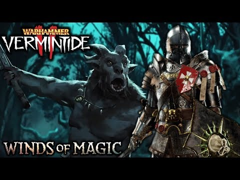 The Beastmen Hordes on CATACLYSM - Vermintide 2 Winds of Magic DLC Gameplay