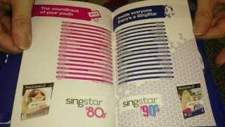 Nostalgamer Unboxes Sing Star 90