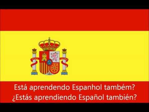 Curso De Espanhol 500 Frases Em Espanhol Youtube
