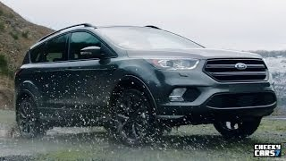 New Ford Kuga 2016 Escape 2017 test drive Off-Road - interior SUV