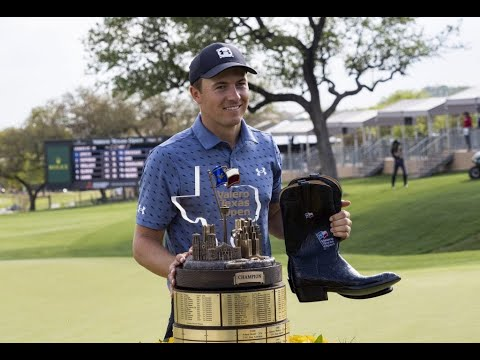 Jordan Spieth ends his victory drought in Texas