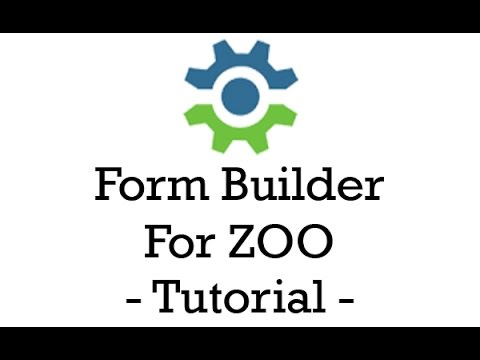 Form Builder For Zoo Tutorial