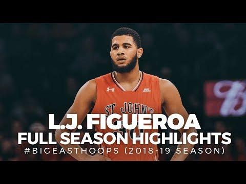 LJ Figueroa Highlights (2018-19 Season) - Full Highlights