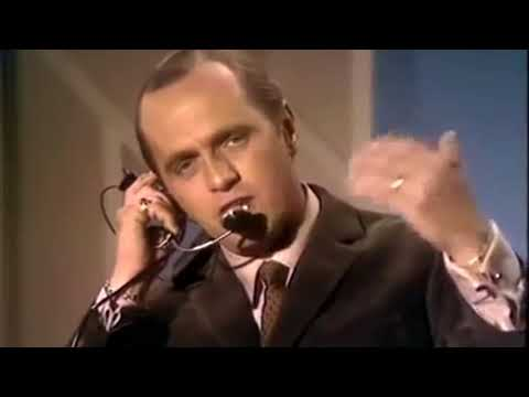 """Bob Newhart Stand Up Comedy  - """"Air Traffic Controller"""" 60's TV"""