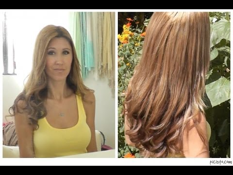 How I Highlight and Color My Hair At Home - YouTube
