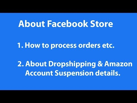 FACEBOOK ORDER PROCESS | AMAZON ACCOUNT SUSPENSION