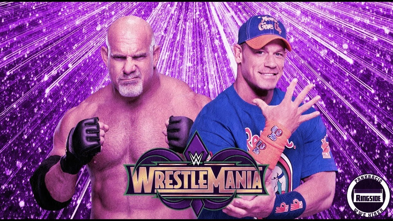GOLDBERG VS JOHN CENA WRESTLEMANIA 34 2018 #1