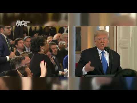 """Tramp izvrijeđao novinara CNN-a. """"Vi ste nepristojna i grozna osoba!"""""""