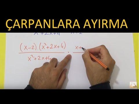 Çarpanlara Ayırma 1 Şenol Hoca Matematik