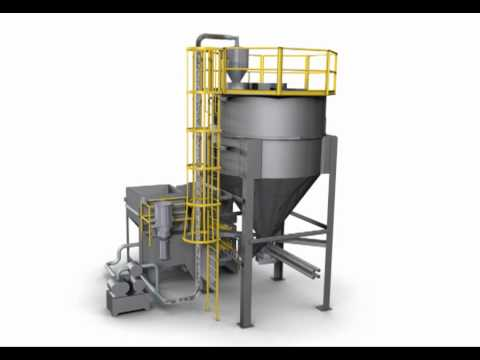 Bulk Material Mixing System Produces Highly Homogenous Blends