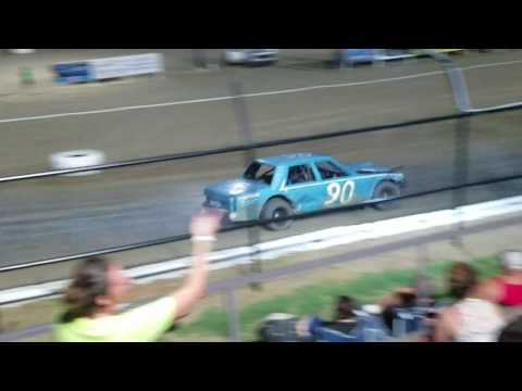Grayson County Speedway Factory stock Feature 7-29-17