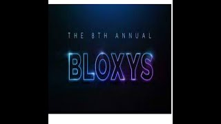 Roblox Bloxy Awards 2021!