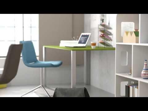 3D Visualisierung: Loft Wohnung und Loft Büro