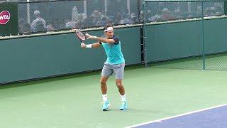 Roger Federer Forehand Slow Motion - Indian Wells ATP (HD)