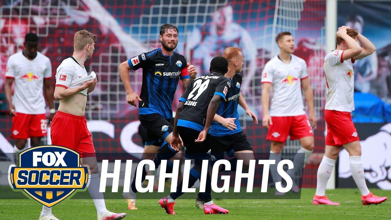 RasenBallsport Leipzig 1 - 1 Paderborn