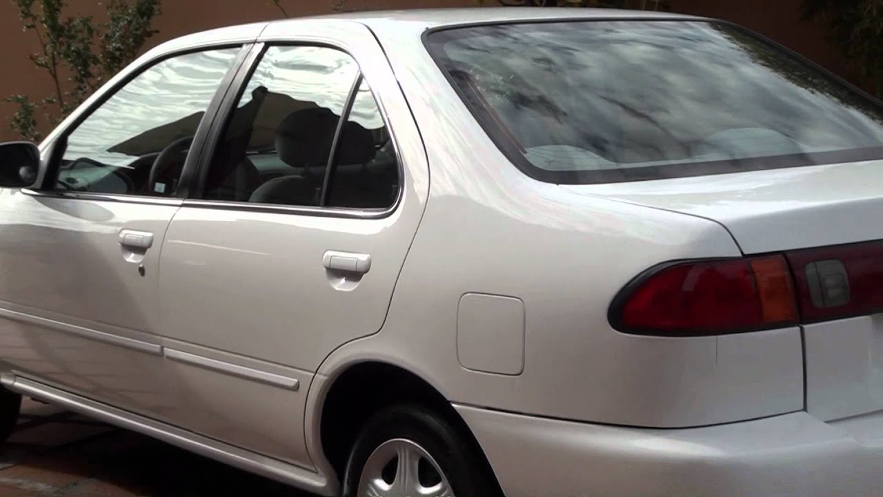 Nissan Sentra B14 1998 GXE, Version USA, Manual,Blanco ...