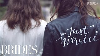 This 'Just Married' Jacket Has Been Worn by Over 20 Brides | BRIDES