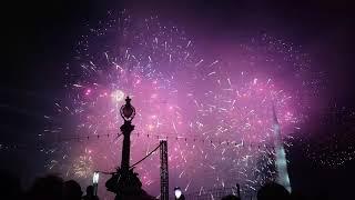 feu artifice fête de Genève 2017 bouquet final