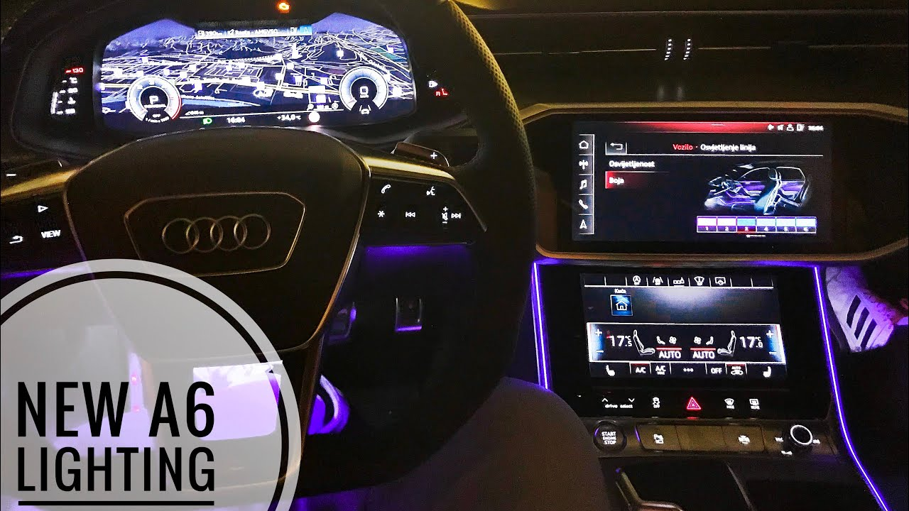 New 2018 Audi A6 Ambient Lighting Exterior Lights How