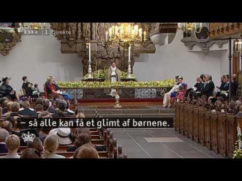 Christening of Prince Vincent & Princess Josephine