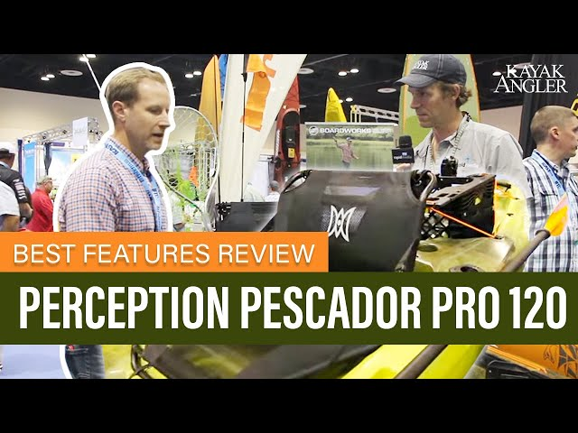 Perception Pescador Pro 120 🎣 Fishing Kayak 📈 Specs & Features Review and Walk-Around 🏆
