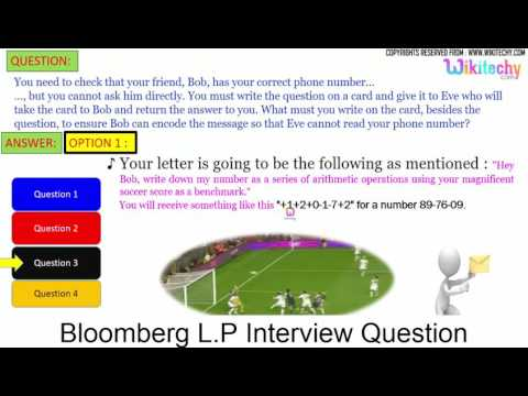 bloomberg lp top most interview questions and answers Online Videos