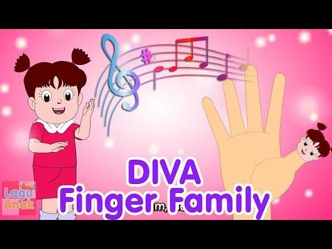 Diva The Series Finger Family Song | Nursery Rhyme | Lagu Anak