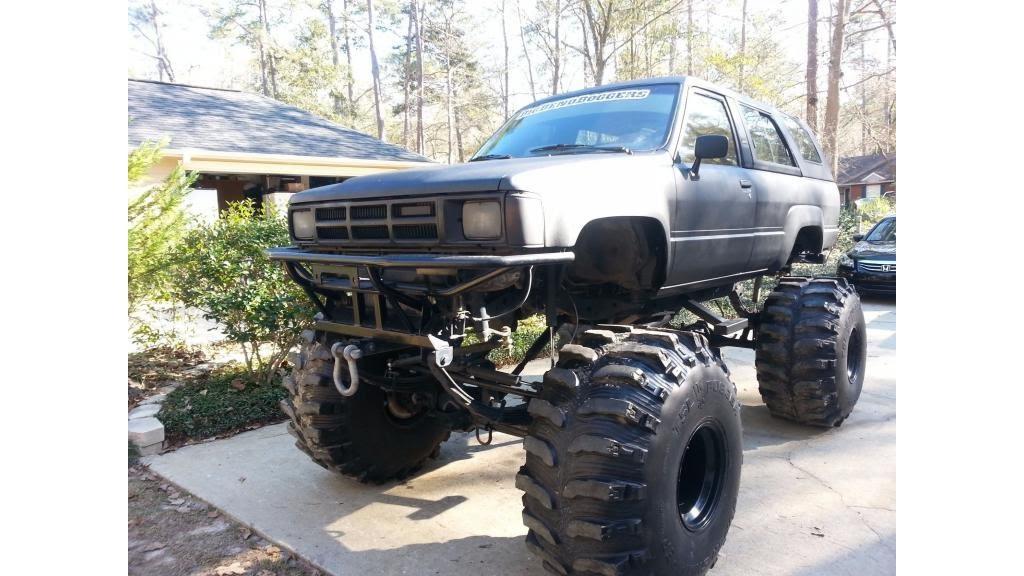 1985 toyota 4 runner sr5 monster bog truck youtube