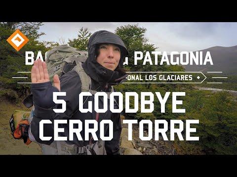 Backpacking Patagonia - El Chalten 5 - Goodbye Cerro Torre