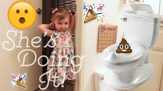 POTTY TRAINING SUCCESS! | WE'VE WAITED SO LONG FOR THIS! 🚽💩